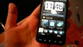 HTC HD2, 1.er vistazo