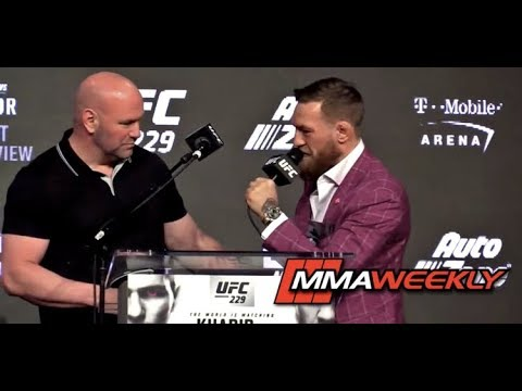 Dana White Says Conor McGregor is Better Than Muhammad Ali at Mental Warfare