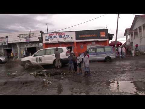 Un equipo de 'En tierra hostil' entra en Goma, la capital minera del Congo