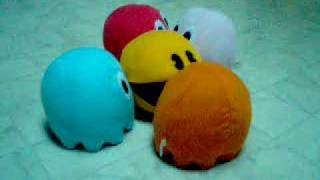 Pacman Plushies Battle round 2
