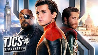 New Spider-Man Far From Home Posters Focus On Main Characters