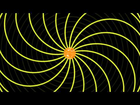Animation of the Sun's Magnetic Field Lines