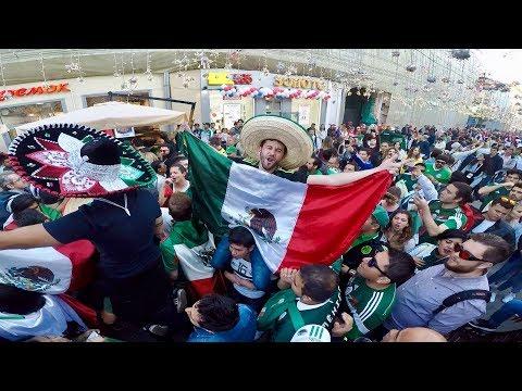 Mexicanos fans en rusia World Cup 2018 Мексиканские болельщики в России