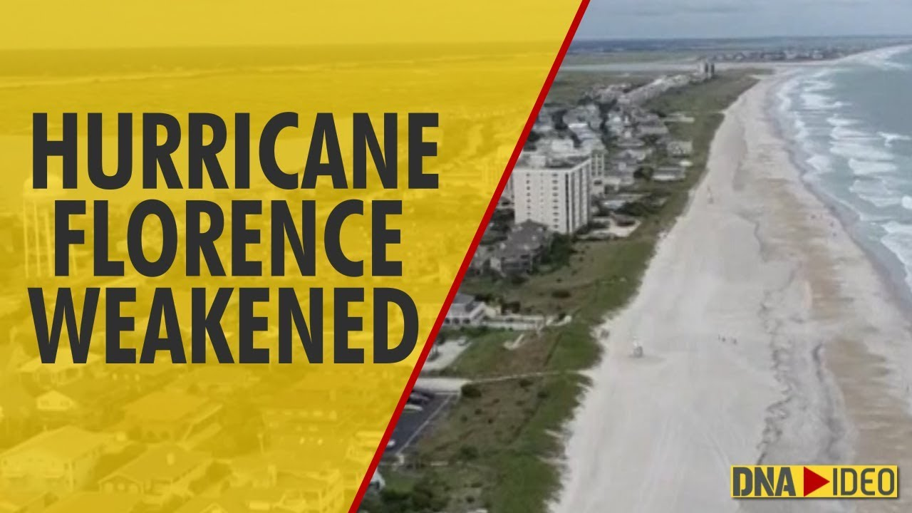 Hurricane Florence weakened to category 2