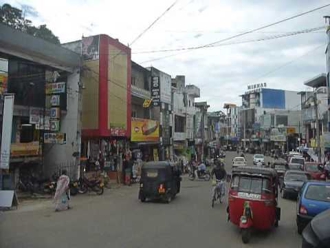 Sri Lanka,ශ්‍රී ලංකා,ceylon,negombo City Street View video