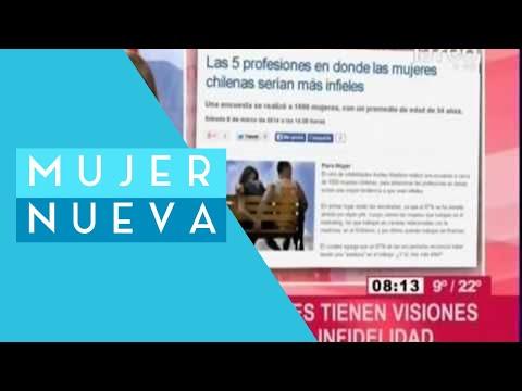 Las 5 profesiones en donde las mujeres chilenas serían más infieles