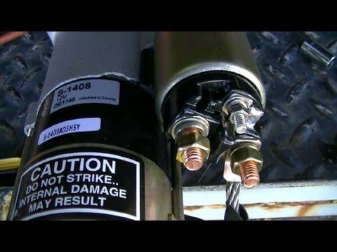 GMC Jimmy 4x4 Starter Removal & Installation