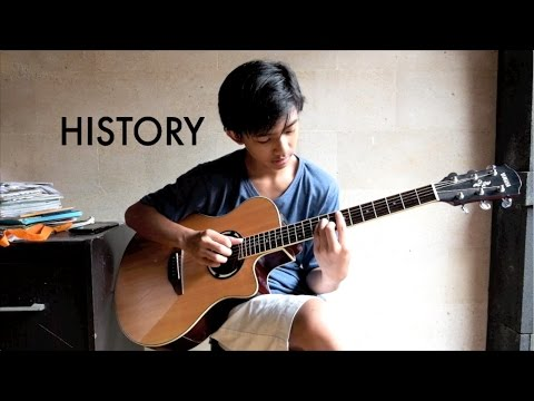 (One Direction) History - Romeo Rockavanka   Fingerstyle Guitar Cover