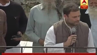 Congress vice President Rahul Gandhi meets people in Sangrur (Punjab)
