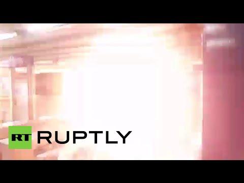 Chile blast video: Explosion rocks Santiago metro station Los Leones