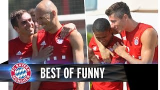 FC Bayern - Funniest Moments 2015