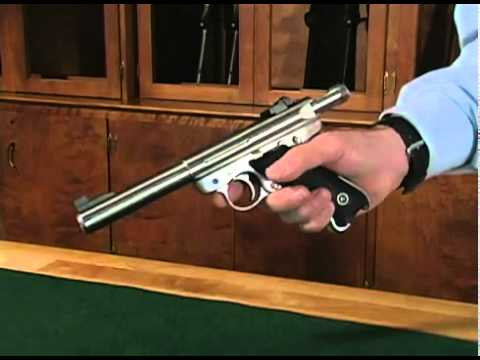 Ruger Mark III .22 Pistol Disassembly provided by OMBExpress.com