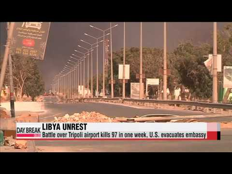 Fighting intensifies in Libya, U.S. embassy evacuates