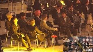 190424 BTS Reaction to MOMOLAND (모모랜드 무대보는 방탄소년단) 4K 직캠 by 비몽