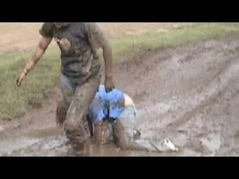 Mud Wrestling Throw Down