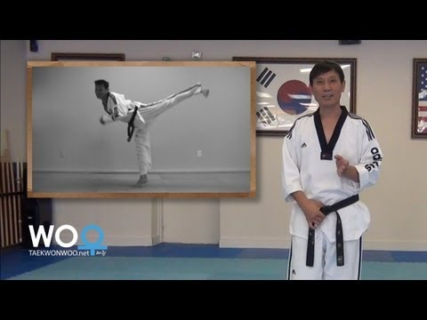 Taekwondo training tips: Improve timing and speed on back kick (taekwonwoo.net) Image 1