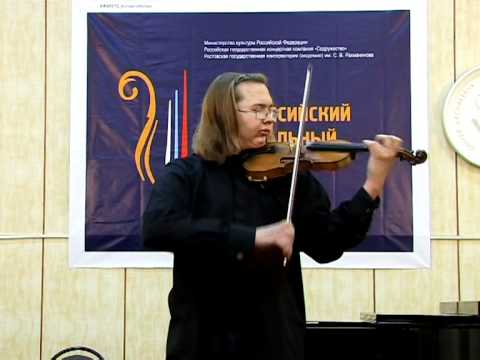 Бах Иоганн Себастьян - BWV 1001 - Скрипичная соната № 1