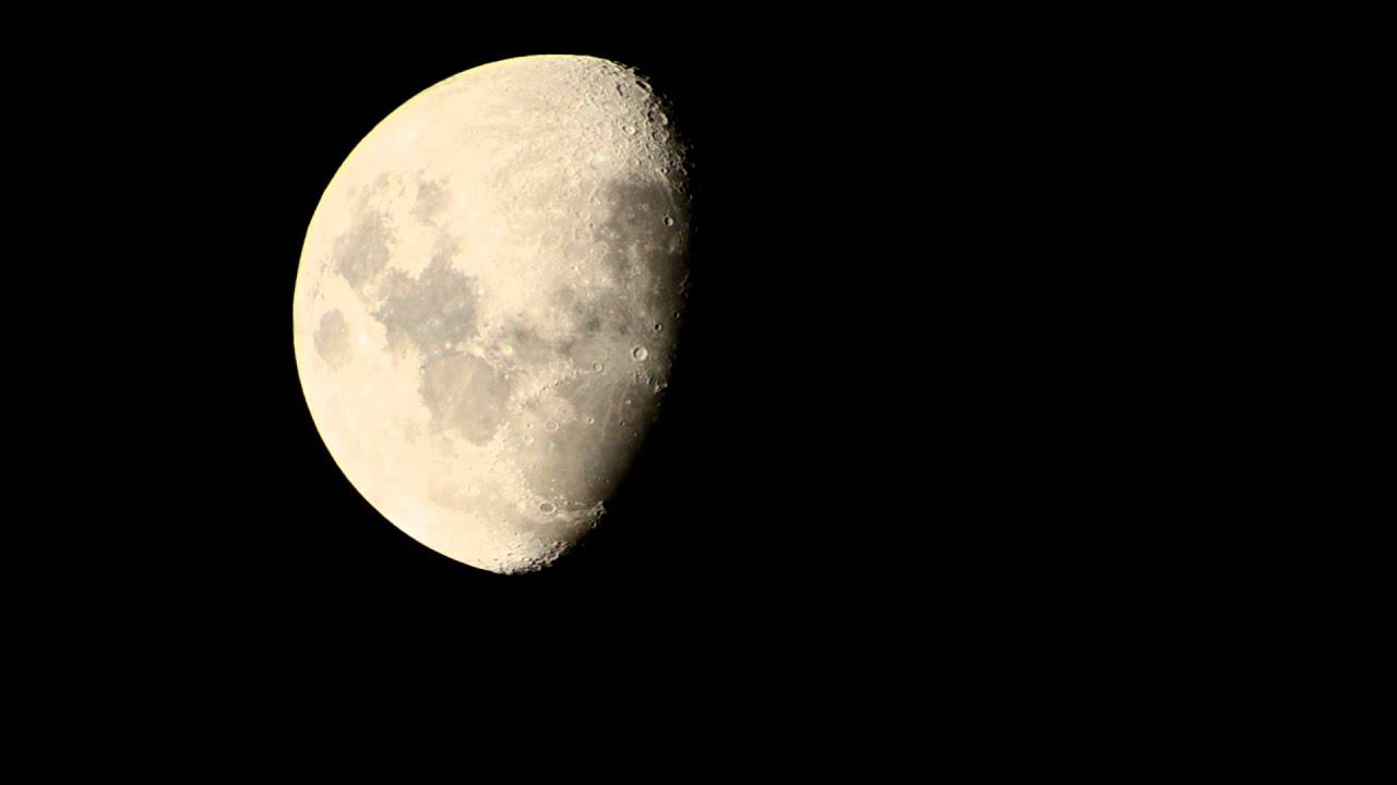Nikon D3100 Hd Video Of Moon Using 70mm Telescope As Lens