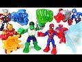 Lion Guard Was Caught By Dinosaur Power Up Marvel Hulk Spider Man Iron Man DuDuPopTOY mp3