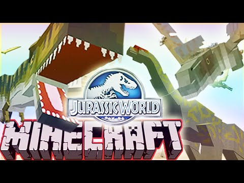 Minecraft Jurassic World Modded Roleplay Adventure! Ep.10