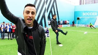 Berba's £300 penalty! | Dimitar Berbatov vs Goldie | Soccer AM Pro AM 🔥