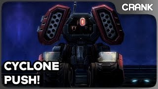 Cyclone Push! - Crank's StarCraft 2 Variety!