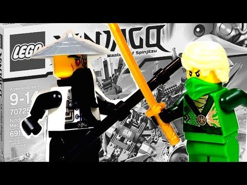 LEGO Ninjago Nindroid MechDragon Set Review 70725