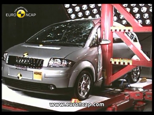 Euro NCAP | Audi A2 | 2002 | Crash test - YouTube