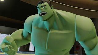 Disney Infinity 2.0 - Marvel Super Heroes - The Avengers Playset Walkthrough Part 1