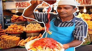 Malaysian Indian Street Food! | Dancing Rojak Man in Penang!