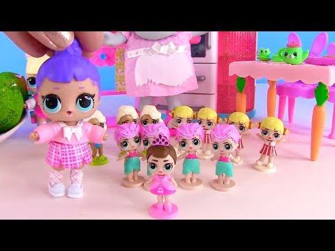 Куклы Лол! Киндер Сюрпризы и Пакет с Новинками Lol мультик! Видео для детей! Lol Surprise