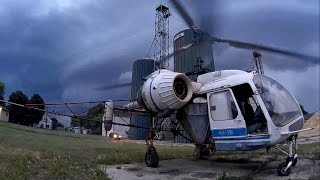 Kamov Ka-26 - Escape from the storm!