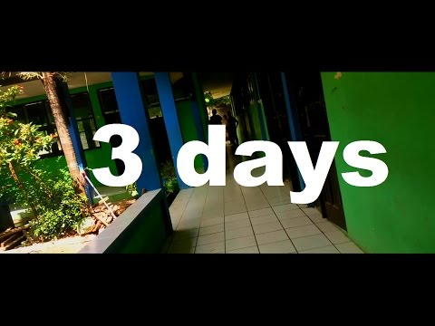 3 DAYS AT SMP NEGERI 1 WERU
