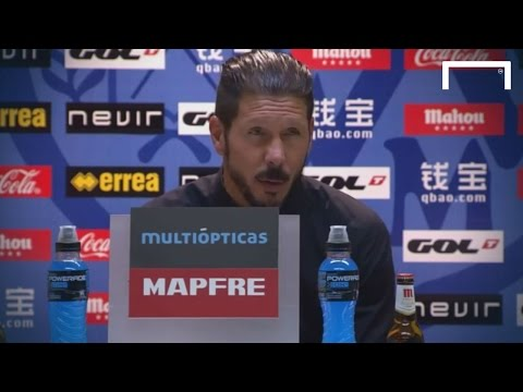 "Simeone: ""Nothing but respect for the people that make these decisions"""