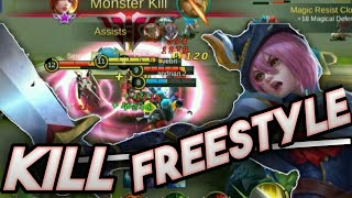 Freestyle Kill Fanny Royal Cavalry | Mobile Legends