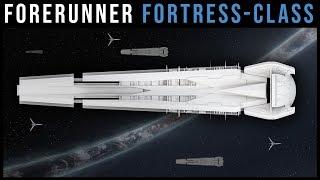 Forerunner FORTRESS-CLASS Dreadnought -- Breakdown/Render | Halo Lore