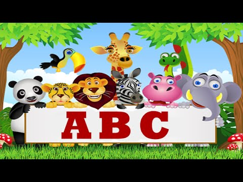 Abc Animals Song For Children - Music For Kids - Baby Learning Songs video