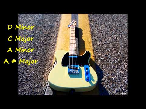 Rock Ballad Backing Track in D Minor HD