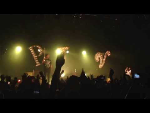 "Pierce the Veil ""Bulls in the Bronx"" Pharr Texas 09/27/2013"