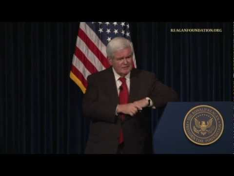 A Reagan Forum with Newt and Callista Gingrich - 11/28/12