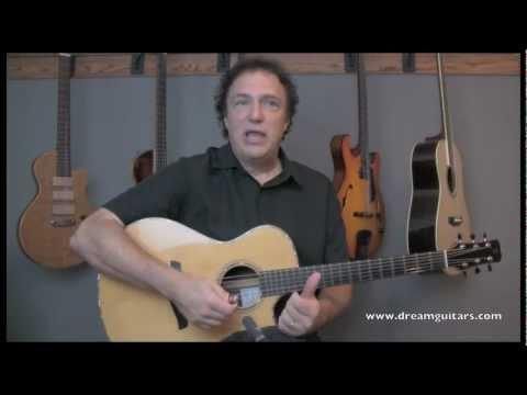 DOUG YOUNG GUITAR LESSON - AMAZING GRACE at DREAM GUITARS part 2