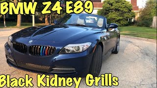 How to Install a Gloss Black Kidney Grill - BMW Z4 E89 Upgrade