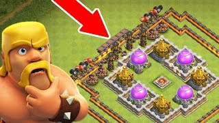TAKE ALL MY LOOT FOR FREE!! - Clash Of Clans - THE ULTIMATE TROLL!!