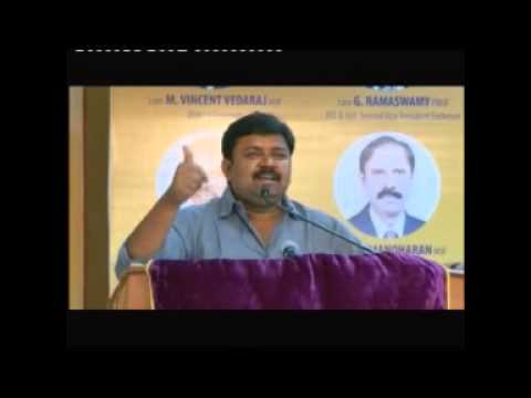 Lions Club Region Meet - Anandha Vasal - Vijay Tv Gopinath Speech video