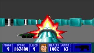 Wolfenstein 3D - Episode 2, Floor 9