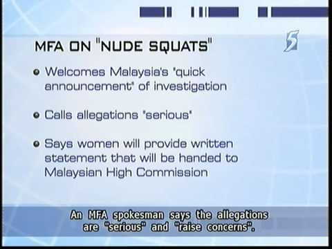 Singapore women ordered to strip naked at Malaysia custom - 16Jun2011
