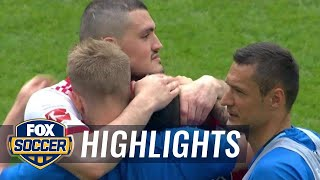 Hamburg SV vs. Monchengladbach | Bundesliga Highlights | FOX SOCCER
