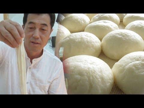 고창 찐빵 달인의 반죽 비법 '마+누룩+두유' @생활의 달인 638회 20180917