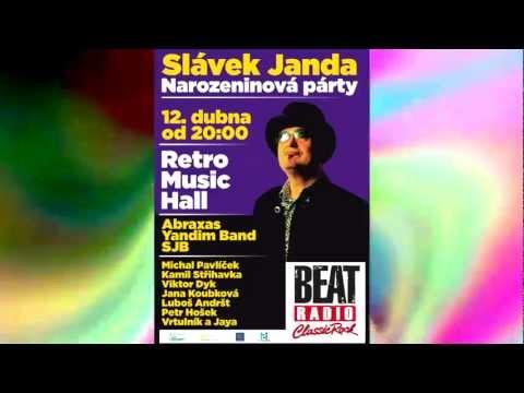 Upoutávka na narozeninový koncert Slávka Jandy