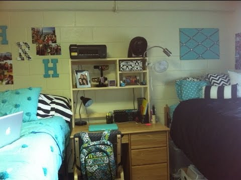 DORM ROOM TOUR!!!